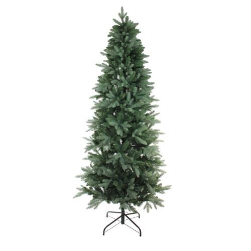 7.5' Green Slim Washington Frasier Fir Artificial Christmas Tree - Unlit - IMAGE 1