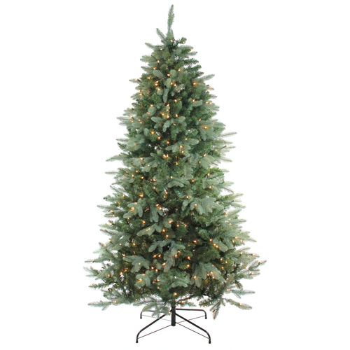 9' Pre-Lit Washington Frasier Artificial Christmas Tree - Clear Lights - IMAGE 1