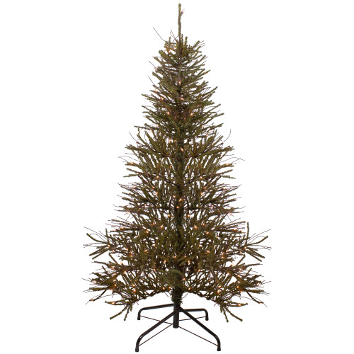 6' Pre-Lit Warsaw Twig Artificial Christmas Tree - Clear Lights - IMAGE 1