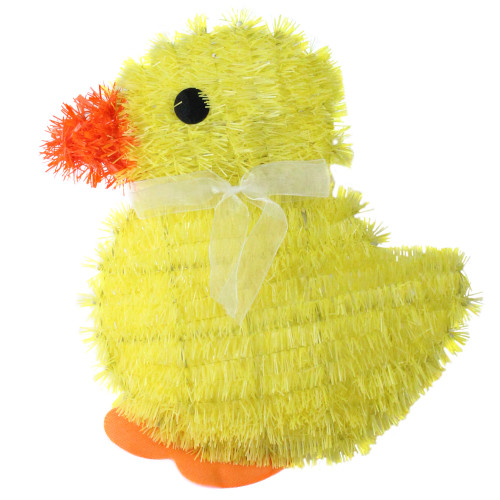 """11.5"""" Yellow and Orange Easter Chick Spring Window Decor - IMAGE 1"""