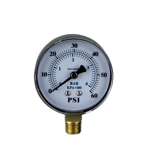 "3.25"" Side Mount Pressure Gauge for Pool Pump - IMAGE 1"