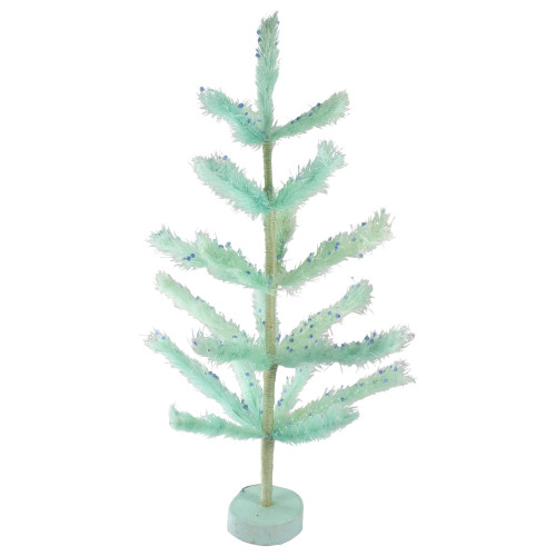 2.5' Pastel Green Sisal Pine Artificial Easter Tree - IMAGE 1