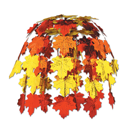 """Club Pack of 12 The Leaves Falling Artificial Fall Leaves Cascade Decoration 24"""" - IMAGE 1"""