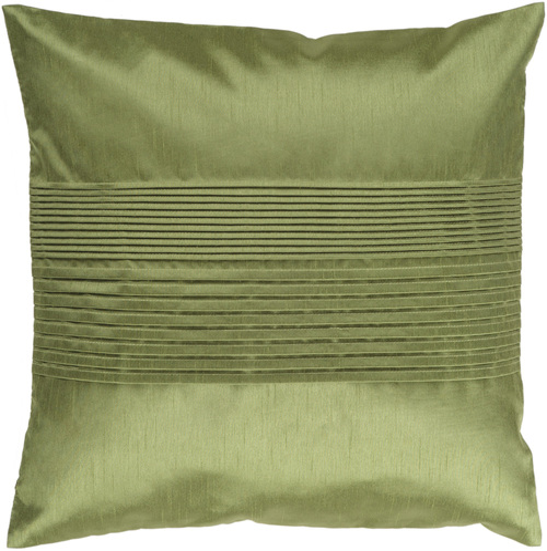 """22"""" Avocado Green Decorative Throw Pillow - Polyester Filler - IMAGE 1"""