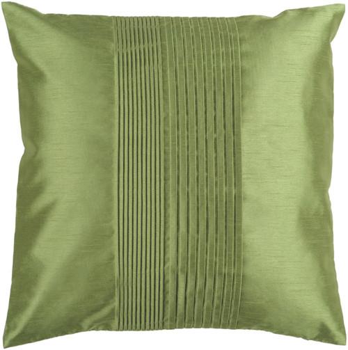"""22"""" Avocado Green Decorative Throw Pillow - Down Filler - IMAGE 1"""