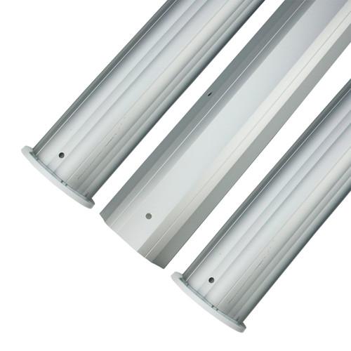 HydroTools Round Aluminum Solar Cover Reel Tube Kit - 3 x 24' - IMAGE 1