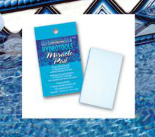 4.5-Inch Blue HydroTools Swimming Pool and Spa Miracle Cleaning Pad - IMAGE 1