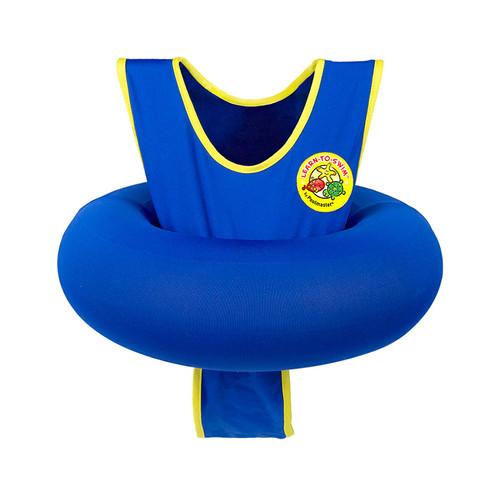 Blue Learn to Swim Children's Swimming Beginner Vest Tube Trainer - IMAGE 1