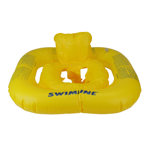 """22"""" Inflatable Yellow Baby Buoy Swimming Pool Float - IMAGE 1"""