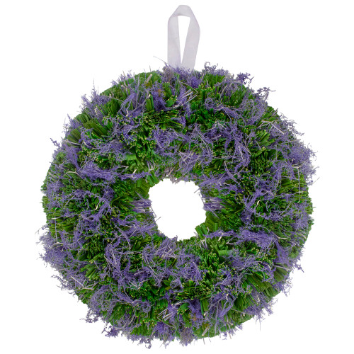 Reindeer Moss and Twig Artificial Spring Floral Wreath,14-Inch - IMAGE 1