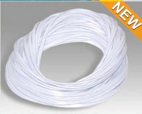 120' White Foot Roll Swimming Pool and Spa Bead Lock Accessory - IMAGE 1