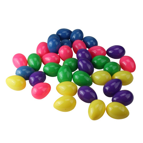 """Club Pack of 36 Vibrantly Colored Springtime Easter Egg Decorations 2.5"""" - IMAGE 1"""