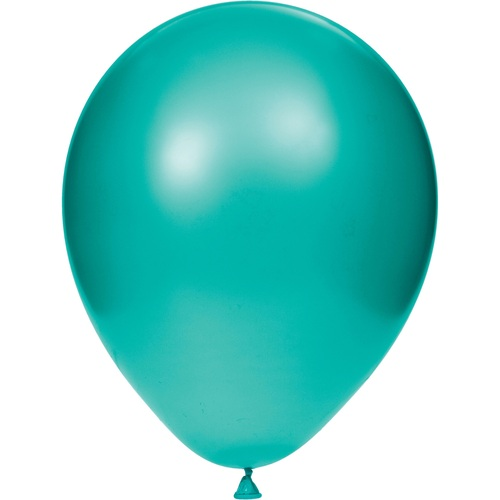 """Club Pack of 180 Teal Lagoon Latex Party Decorative Balloons 12"""" - IMAGE 1"""