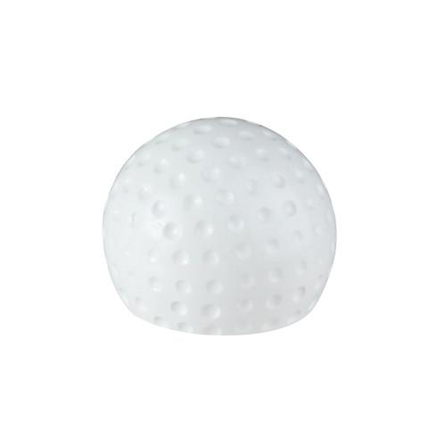"""1.5"""" White Golf Ball Resin and Metal Novelty Handheld Bottle Opener - IMAGE 1"""