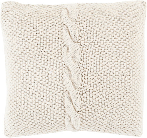 """22"""" Off-White Dotted Pirouette Decorative Throw Pillow - Polyester Filler - IMAGE 1"""