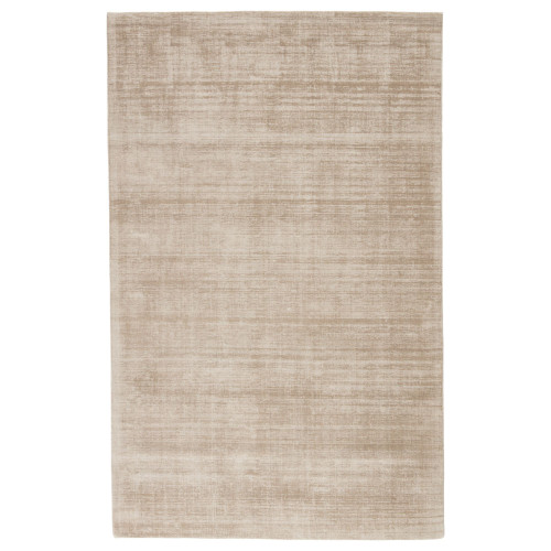 5' x 8' Gray Hand Loomed Rectangular Area Throw Rug - IMAGE 1