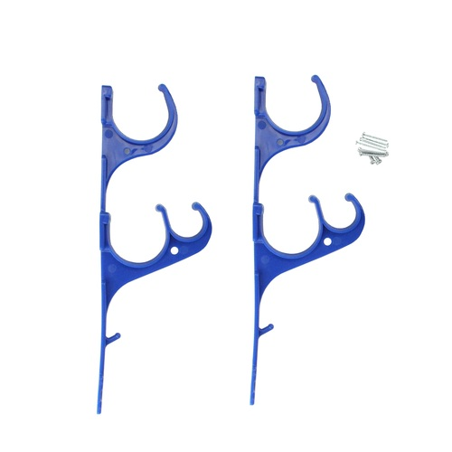 "12.5"" Pole and Vacuum Hose Poolside Hanging Hook Set - IMAGE 1"