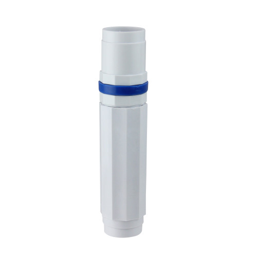 """7.5"""" White and Blue Deluxe Cam for Swimming Pool Telescopic Poles - IMAGE 1"""