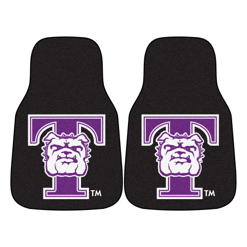 NCAA Truman State University Bulldogs 2-PC Set of Front Carpet Car Mats, Universal Size - IMAGE 1