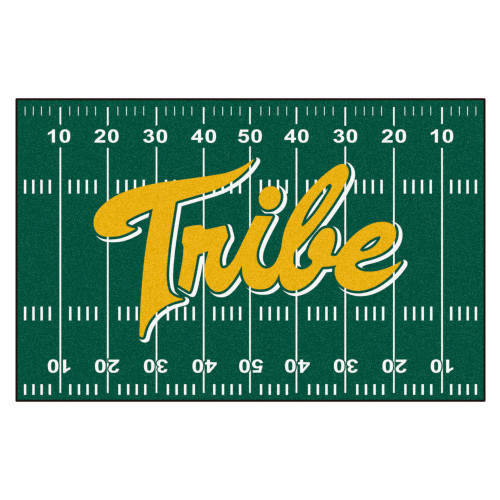 """19"""" x 30"""" Green NCAA """"Tribe"""" College of William and Mary Starter Door Mat - IMAGE 1"""