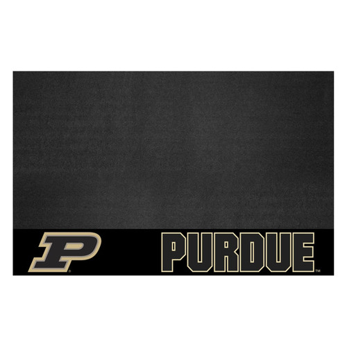 """26"""" x 42"""" Black NCAA Purdue University Boilermakers Grill Mat Tailgate Accessory - IMAGE 1"""