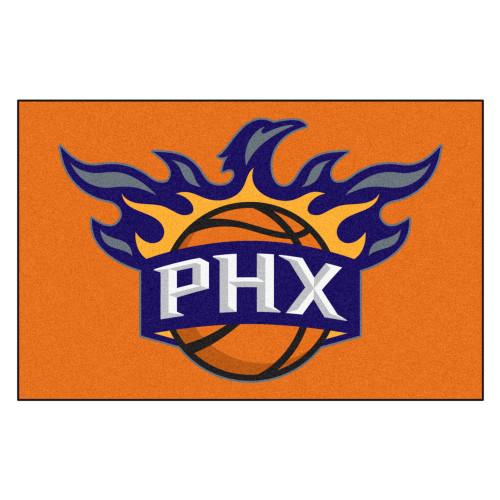 """19"""" x 30"""" Gold and Blue NBA Phoenix Suns Rectangular Starter Mat - IMAGE 1"""