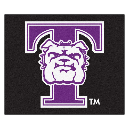 "59.5"" x 71"" Black NCAA Truman State University Bulldogs Tailgater Mat Outdoor Area Rug - IMAGE 1"