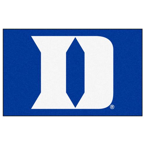 "59.5"" x 94.5"" Blue NCAA Duke University Blue Devils Ulti-Mat Rectangular Area Rug - IMAGE 1"