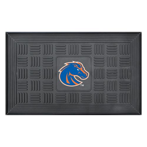 "19.5"" x 31.25"" Gray NCAA Boise State University Broncos 3-D Team Door Mat - IMAGE 1"
