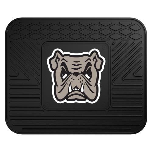 "14"" x 17"" Black NCAA Adrian College Bulldogs Heavy Duty Rear Car Seat Utility Mat - IMAGE 1"