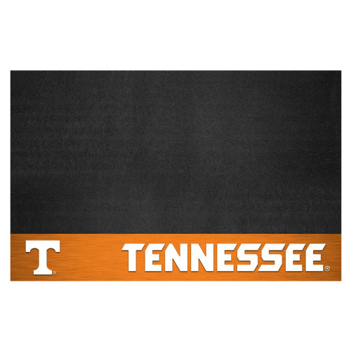 "26"" x 42"" Black NCAA Volunteers Grill Mat Tailgate Accessory - IMAGE 1"