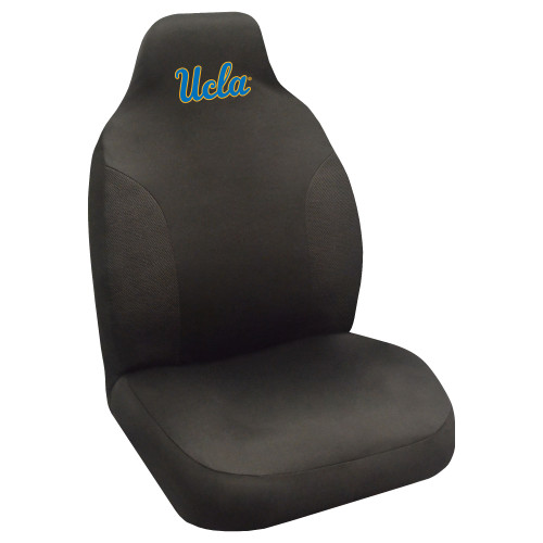 """20"""" x 48"""" Black and Blue NCAA University of California Los Angeles Bruins Seat Cover - IMAGE 1"""