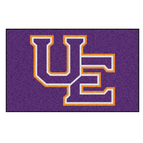 "59.5"" x 94.5"" Purple NCAA University of Evansville Purple Aces Ulti-Mat Area Rug - IMAGE 1"