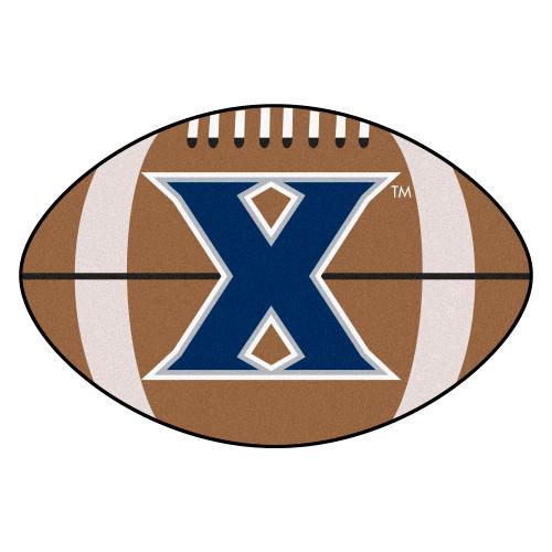 "20.5"" x 32.5"" Brown NCAA Xavier University Musketeers Football Mat - IMAGE 1"