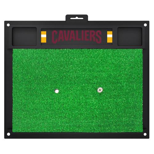 "20"" x 17"" Green NBA Cleveland Cavaliers Golf Hitting Practice Mat - IMAGE 1"