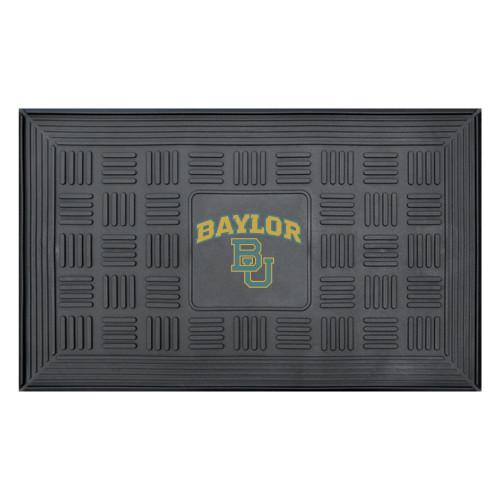 "19.5"" x 31.25"" Gray Medallion NCAA Baylor University Bears 3-D Team Door Mat - IMAGE 1"