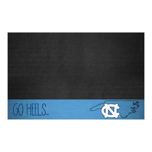 "26"" x 42"" Black and Blue NCAA University of North Carolina Chapel Hill Tar Heels Outdoor Area Rug - IMAGE 1"