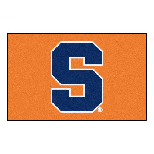 5' x 8' Orange and Blue NCAA Syracuse University Rectangular Outdoor Area Rug - IMAGE 1