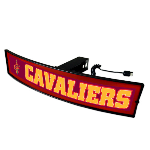 """NBA - Cleveland Cavaliers Light Up Hitch Cover - 21""""x9.5"""" - IMAGE 1"""