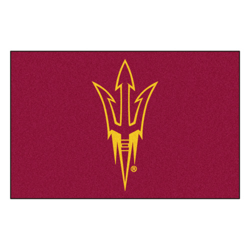 "19"" x 30"" Red and Yellow NCAA Arizona State University Sun Devils Starter Door Mat - IMAGE 1"
