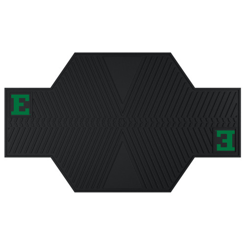 """42"""" x 82.5"""" Black and Green NCAA Eastern Michigan University Eagles Parking Mat Motorcycle Accessory - IMAGE 1"""