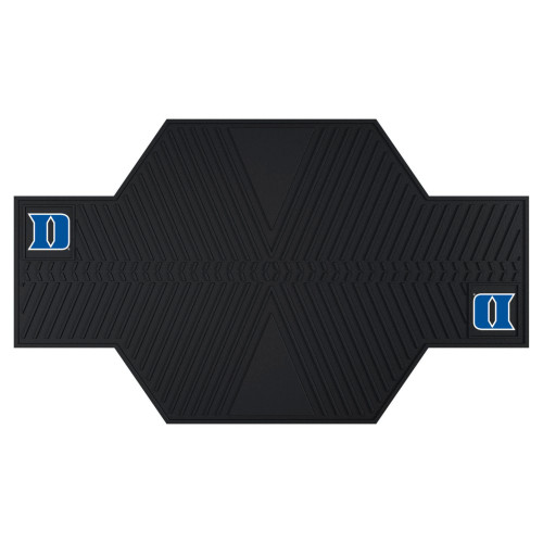 "42"" x 82.5"" NCAA Duke University Blue Devils Parking Mat Motorcycle Accessory - IMAGE 1"