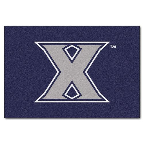 "19"" x 30"" Blue NCAA Xavier University Musketeers Starter Mat - IMAGE 1"