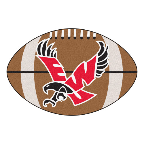 "20.5"" x 32.5"" Brown and Red NCAA Eastern Washington University Eagles Football Door Mat - IMAGE 1"
