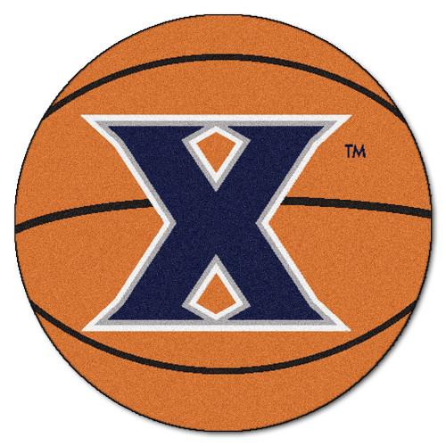 "27"" Orange and Blue NCAA Xavier University Musketeers Basketball Mat - IMAGE 1"