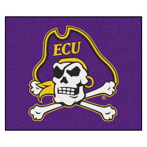 "59.5"" x 71"" Purple NCAA East Carolina University Pirates Tailgater Outdoor Rectangular Mat - IMAGE 1"