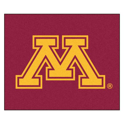 "59.5"" x 71"" Red NCAA University of Minnesota Golden Gophers Tailgater Rectangular Doormat - IMAGE 1"