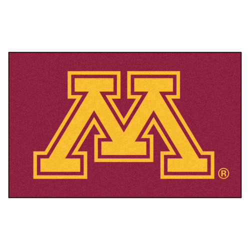 "59.5"" x 94.5"" Red NCAA University of Minnesota Golden Gophers Ulti-Mat Rectangular Doormat - IMAGE 1"