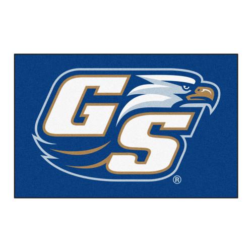 "19"" x 30"" Blue and White NCAA Georgia Southern University Eagles Starter Rectangular Mat - IMAGE 1"