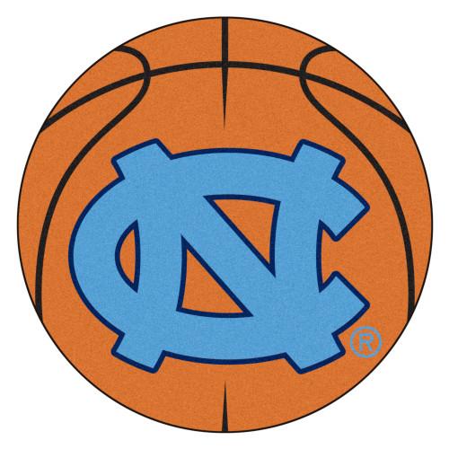 "27"" Brown NCAA University of North Carolina Chapel Hill Tar Heels Basketball Door Mat - IMAGE 1"